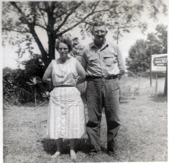 Edgar Bembry and Jewell Smith Bemby, undated photo.