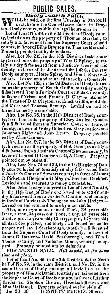 Macon Weekly Telegraph March 3, 1840
