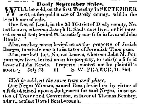Macon Weekly Telegraph, September 7, 1841