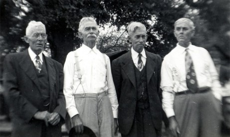 Mollie's brothers, Willie, Charlie, Melvin, and Mitchell Sumner