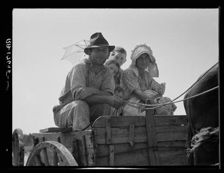 Georgia sharecropping family, 1930s.