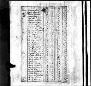 Year: 1800; Census Place: Bertie, North Carolina; Series: M32; Roll: 30; Page: 32; Image: 39; Family History Library Film: 337906 (Click to enlarge)